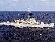USS Morton (DD-948) underway in the Indian Ocean, circa in the 1970s (6485457)