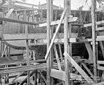 USS Ward (DD-139) construction on May 23, 1918, Mare Island Navy Yard, California (26834487223).jpg