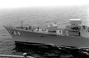 USS William V. Pratt (DDG-44) ASROC