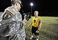 US Army 52040 Spc. Becher is interviewed after PT.jpg
