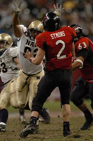 B. J. Symons - Symons throws at the 2003 Houston Bowl