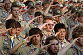 US Navy 050431-N-1810F-181 The spirit of brotherhood through scouting closely resembles that found in the Navy, which add to the spirit of adventure during the National Boy Scouts Jamboree.jpg