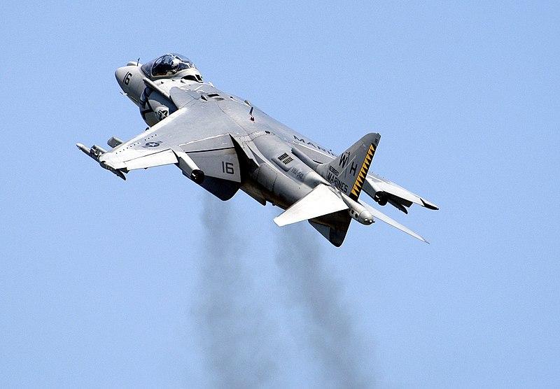 File:US Navy 050507-N-0295M-034 An AV-8B Harrier II ...