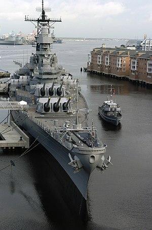 Nauticus - USS Wisconsin (BB 64), located at Nauticus