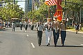 US Navy 050821-N-4995T-023 A joint color guard leads the Army Band during the 87th annual National Convention.jpg