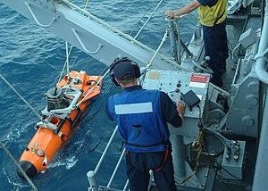 Remotely operated underwater vehicle - AN/SLQ-48 Mine Neutralization Vehicle