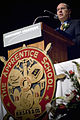 US Navy 080209-N-5549O-145 Secretary of the Navy (SECNAV) The Honorable Dr. Donald C. Winter delivers the commencement address to the Northrop Grumman Newport News Apprentice School Graduating Class of 2007.jpg