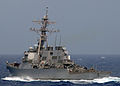US Navy 080903-N-1082Z-011 he guided-missile destroyer USS Ramage (DDG 61) transits through the Atlantic Ocean.jpg