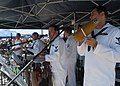 US Navy 091003-N-3581D-065 Sailors assigned to Navy Band Southwest, play Latin music during the annual air show at Marine Corps Air Station Miramar, Calif.jpg