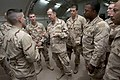 US Navy 091218-N-0696M-541 Adm. Mike Mullen, chairman of the Joint Chiefs of Staff, speaks with Sailors assigned to Riverine Squadron Three after an all hands call.jpg