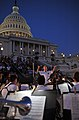 US Navy 100607-N-0773H-081 Lt. Cmdr. Brian O. Walden, commanding officer of the U.S. Navy Band, conducts the Concert Band during an evening concert at the U.S. Capitol.jpg