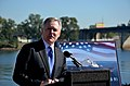 US Navy 111005-N-ZZ999-034 ecretary of the Navy (SECNAV) the Honorable Ray Mabus speaks during the official naming ceremony for the ninth littoral.jpg