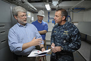 US Navy 120202-N-PO203-018 The Office of Naval Research works on Noise-Lnduced Hearing Loss program.jpg