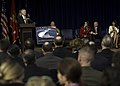 US Navy 120210-N-AC887-017 The Secretary of the Navy (SECNAV) the honorable Ray Mabus announces that the name of the 10th littoral combat ship, LCS.jpg