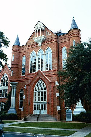 History of the University of Alabama - Clark Hall was rebuilt after the Civil War