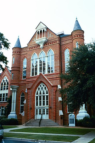 Gorgas–Manly Historic District - Clark Hall, completed in 1884.