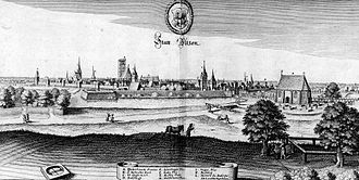 Uelzen - Uelzen by Matthäus Merian the Younger, about 1654