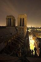 Ultra grand angle et plans architecturaux sur Notre-Dame de Paris - Les deux tours.jpg
