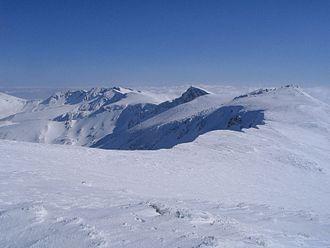 Uludağ - Image: Uludag range