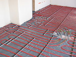 Underfloor Heating Under Kitchen Island