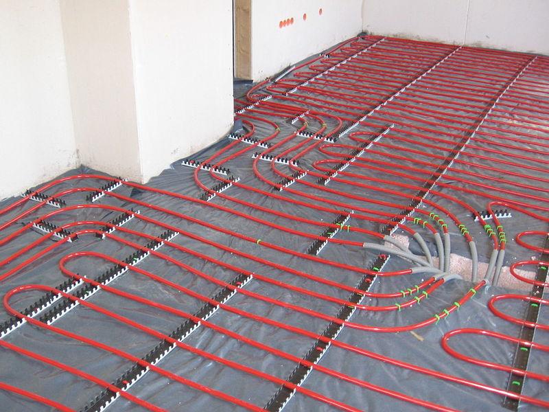 Montaż ogrzewania podłogowego