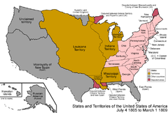 Louisianaterritoriet 1805-1809
