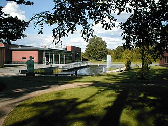 Hasso Plattner Institute - Lecture halls (old picture without main building in the background)