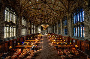 ESSEC Business School - ESSEC partner University of Chicago's Harper Library