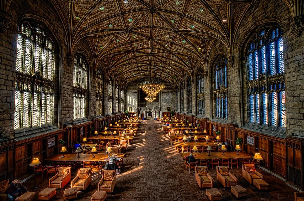 University of Chicago, Harper Library