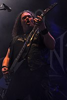 Unleashed, Johnny Hedlund at Party.San Metal Open Air 2013 08.jpg