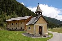Unterstalleralm - Kapelle hll. Chrysanth und Daria.jpg