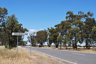 Urangeline East, New South Wales Town in New South Wales, Australia