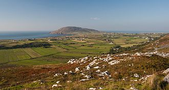 Urris - The view of Urris from Mamore Gap