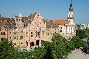 Kecskemét - Image: Városi Tanácsház (2253. számú műemlék) 4