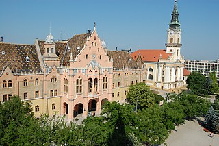 Kecskemét City with county rights in Southern Great Plain, Hungary