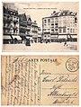 VALENCIENNES entrée de la rue de Lille, courrier d'un soldat allemand durant la 1ère Guerre Mondiale 1915. Feldpost karte.jpg