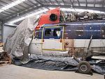 VH-LAG Super Puma Helicopter in Storage at Winnellie in August 2011 (1).jpg