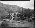 VIEW OF NORTH END AND TOP OF TIPPLE - Day-Mutual Mine, Burnt Tree Fork, Spring Canyon, Helper, Carbon County, UT HAER UTAH,4-HELP.V,1-4.tif