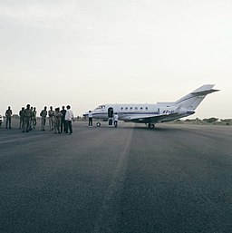 VT-UPM, Hawker 900XP of Uttar Pradesh Government at Saifai Airstrip (2016).jpg