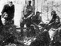 V taboru XIV . divizije na Starih Ognicah nad Leskovo dolino.jpg