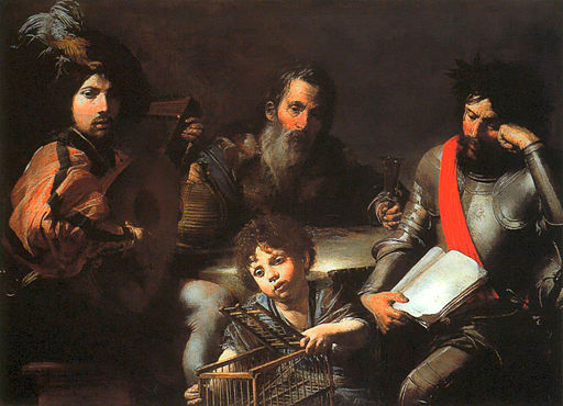 Valentin de Boulogne - The Four Ages of Man - WGA24241