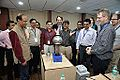 Van de Graaff Generator Experimentation - Indo-Finnish-Thai Exhibit Development Workshop - NCSM - Kolkata 2014-11-27 9755.JPG