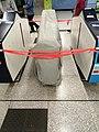 Vandalized ticket gate in Whampoa station.jpg