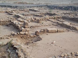History of Rioja wine - Ruins from the Roman settlement of Vareia near the location of modern-day Logroño.