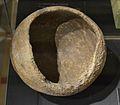 Vas de forma el·líptica horitzontal, cova del Barranc del Migdia, museu Soler Blasco.JPG
