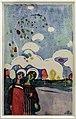 Vassily kandinsky, zwei mädchen (due ragazze), 1907, xilografia.JPG
