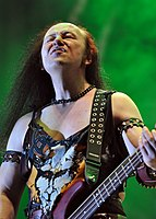 "Venom, Conrad ""Cronos"" Lant at Party.San Metal Open Air 2013 04.jpg"