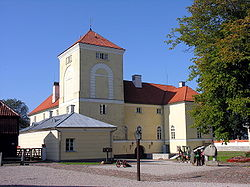Livonian castle was rebuilt into a prison in 1832. Now it has been renovated and turned into a museum.