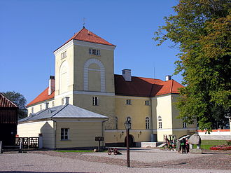 Ventspils - Ventspils Castle, built by the Livonian Order, and converted into a prison in 1832.