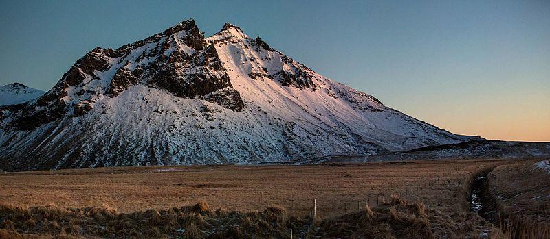 Vestrahorn Mountain Peak